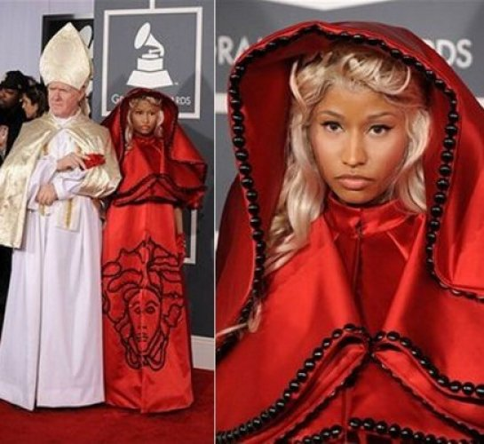 Nicki Minaj at the 2012 Grammy Awards
