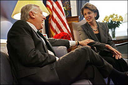 Pelosi and Hoyer stand by Obama