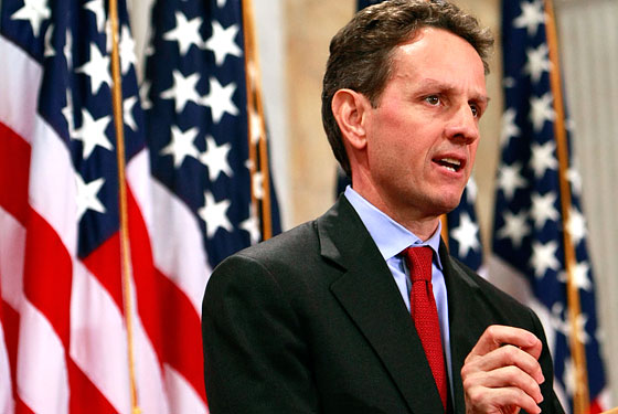 Geithner Speaks On Economy