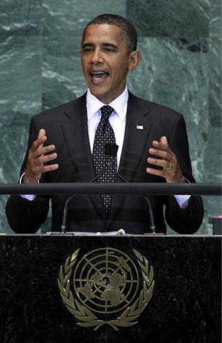 Obama speaks to United Nations