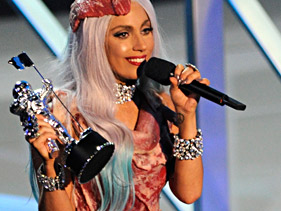 Lady Gaga wins big at VMA's