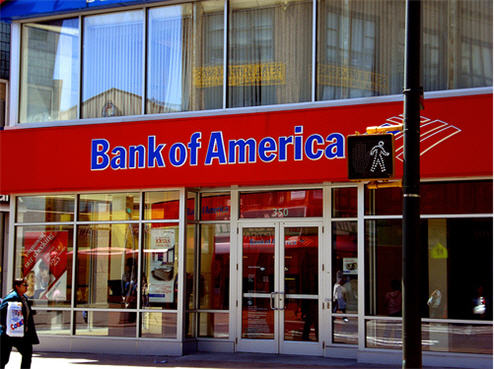 Bank of America halts foreclosures