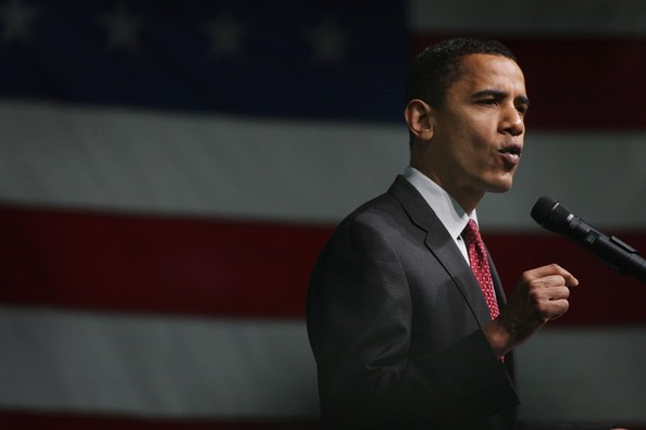 Obama Campaigns In Wisconsin