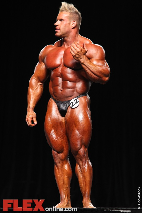 Cutler takes home his fourth Olympia Title