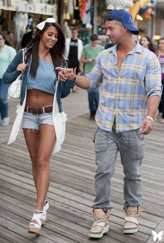 Mike and paula hookup jersey shore
