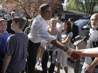 Obama Stops In Ohio