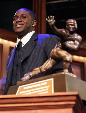 Bush won the Heisman in 2005