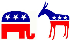 Democrats and Republicans are preparing to face off on November 2nd