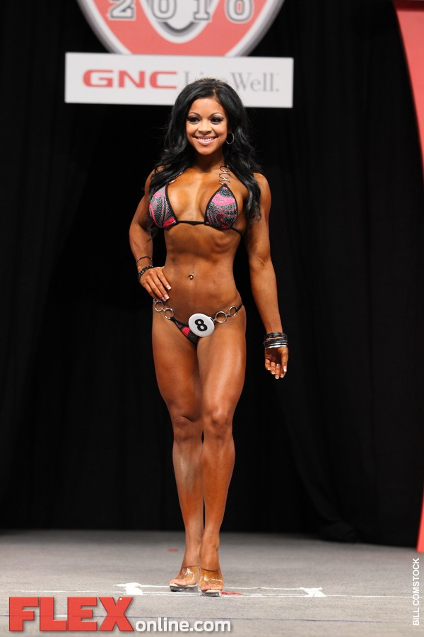 Gonzales became the first winner of the Bikini Division