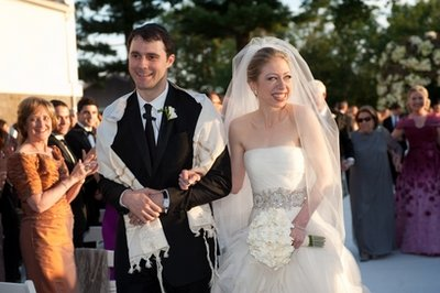 Chelsea Clinton and Marc Mezvinsky Wedding Photo