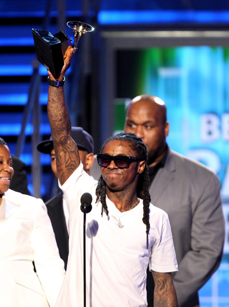 The Grammy Award winner Lil Wayne was released from prison Thursday