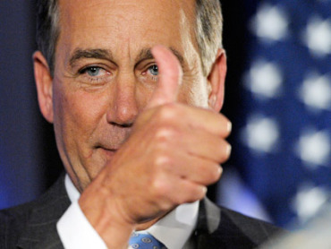 With the Republican victories, John Boehner is set to be the new Speaker of the House.