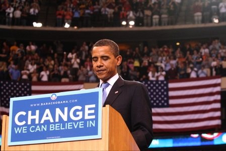 Obama Campaigns For Democrats