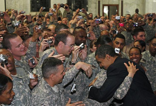 Obama addresses end of war