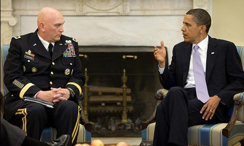 Odierno Is Confident About Power Transition
