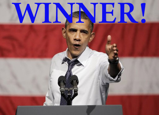 Obama wins 2012 election