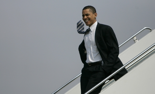 Obama Visits Seattle