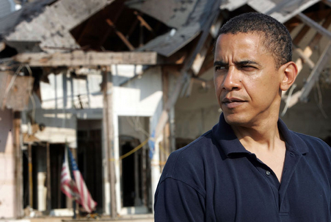 Obama provides for New Orleans five years after Katrina