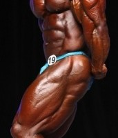 Heath came in as the reigning Mr Olympia and wasn't planning to lose the title (FLEX Online)