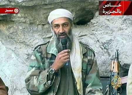 but osama bin laden was. was written by in Laden