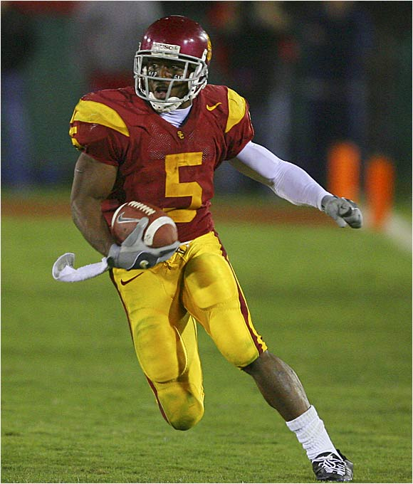 Bush is arguably the most popular player in USC history