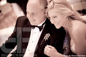 rush limbaugh wedding photo
