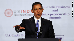 Obama announces trade agreement with India
