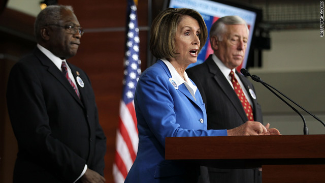Pelosi will lead the new Democratic minority in the House