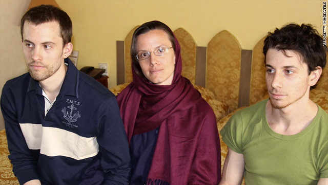 Two American hikers are to stand trial in Iran