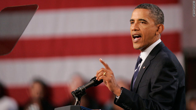Obama speaks in Ohio on economy and Republicans