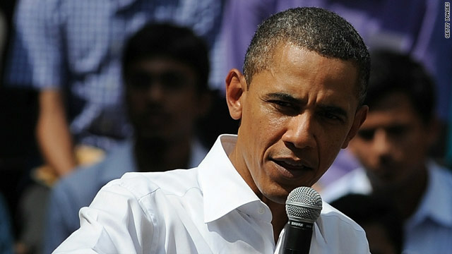Obama talks Pakistan in India