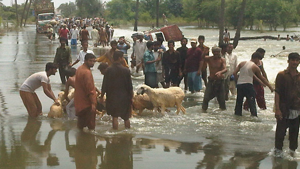 Flood Hits Pakistan